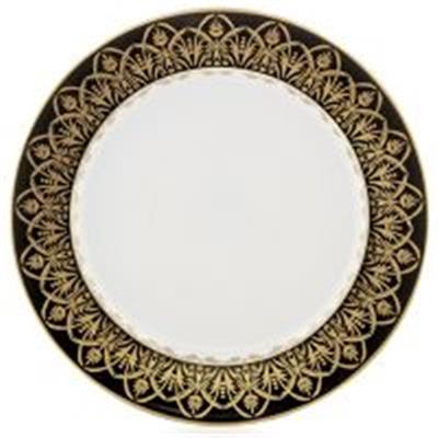 Oasis Black & Gold - Assiette PLate 27.5 cm