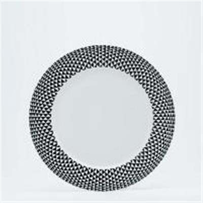 Black Diamonds - Assiette plate 27.5 cm